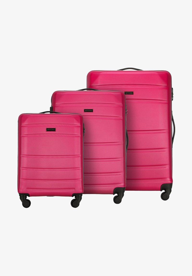 Wittchen - SET - Wheeled suitcase - rosa