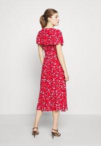 Lauren Ralph Lauren - PRINTED MATTE DRESS - Žerzejové šaty - red - 2