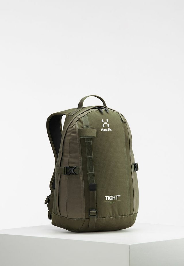TIGHT SMALL - Rucksack - deep woods/sage green