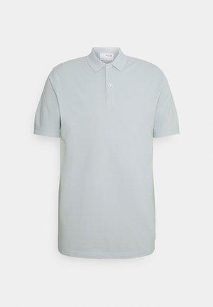 SLHSOHO OVERDYE - Polo shirt - ballad blue