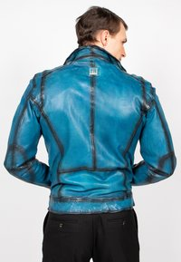 Freaky Nation - BENBLUE-FN - Leather jacket - multiple blue - 2