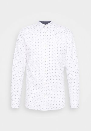 JJFRANK PLAIN - Shirt - white