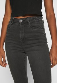 Noisy May - NMAGNES SLIT - Jeans Skinny Fit - medium grey denim - 4