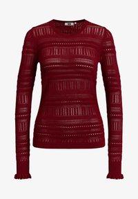 WE Fashion - Jumper - red - 5
