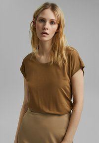 Esprit Collection - Basic T-shirt - bark - 4