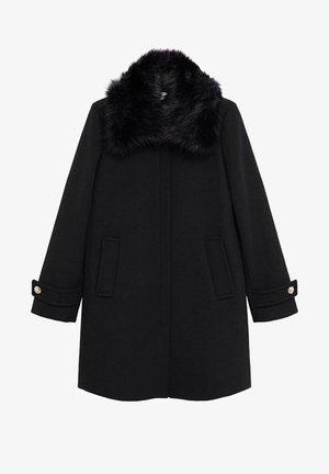 ARTETA - Classic coat - schwarz
