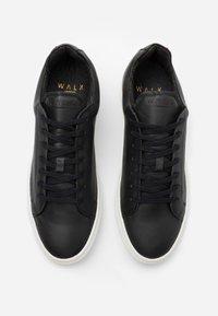 Walk London - GRADUATE  - Sneakers laag - nappa vegetal black - 1