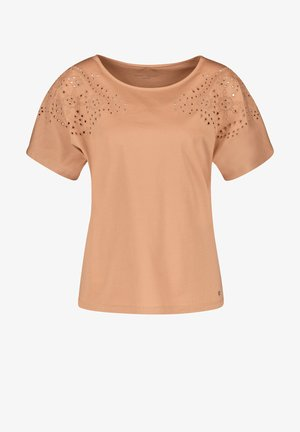 Print T-shirt - sahara