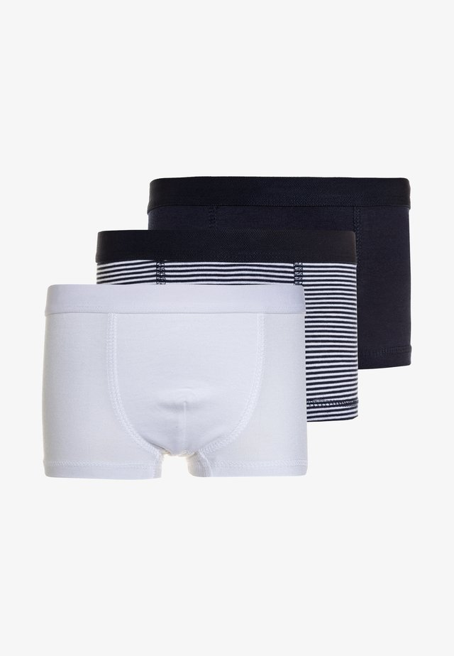 UNTERWÄSCHE BOYS 3 PACK - Shorty - dark blue