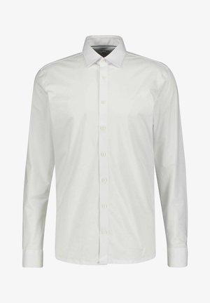 Kostymskjorta - weiss