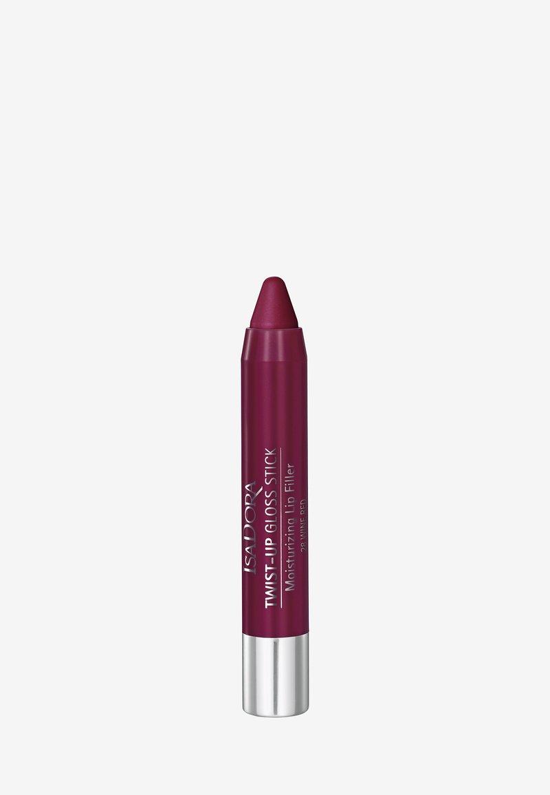 IsaDora - TWIST-UP GLOSS STICK - Lip gloss - wine red