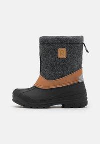 Reima - JALAN UNISEX - Winter boots - black - 0