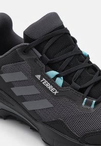 adidas Performance - TERREX AX4 - Hiking shoes - core black/grey three/mint ton - 5