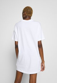 Nike Sportswear - DRESS - Jersey dress - white/black - 2