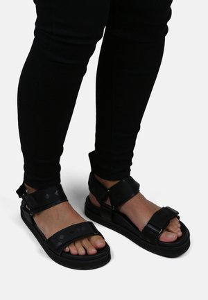 ROUTE SPORT SANDAL - Platform sandals - black