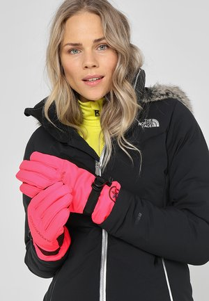 ULTIMATE SNOW SERVICE GLOVE - Rękawiczki pięciopalcowe - acid pink