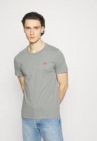 Levi's® - ORIGINAL TEE UNISEX - T-paita - mottled grey - 0