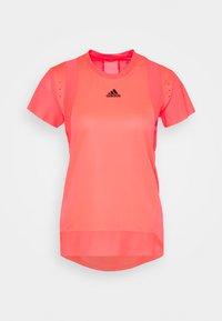 adidas Performance - TEE H.RDY - Print T-shirt - pink - 5
