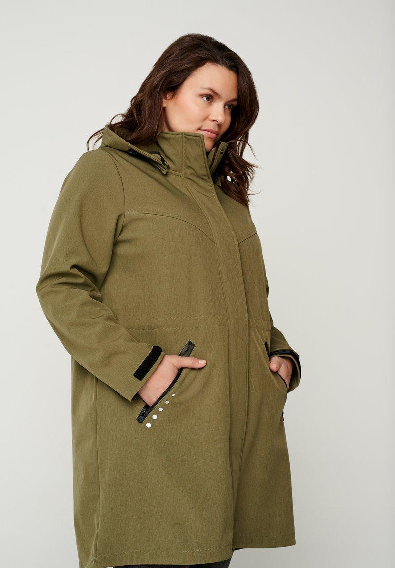 Zizzi - Outdoor jacket - green
