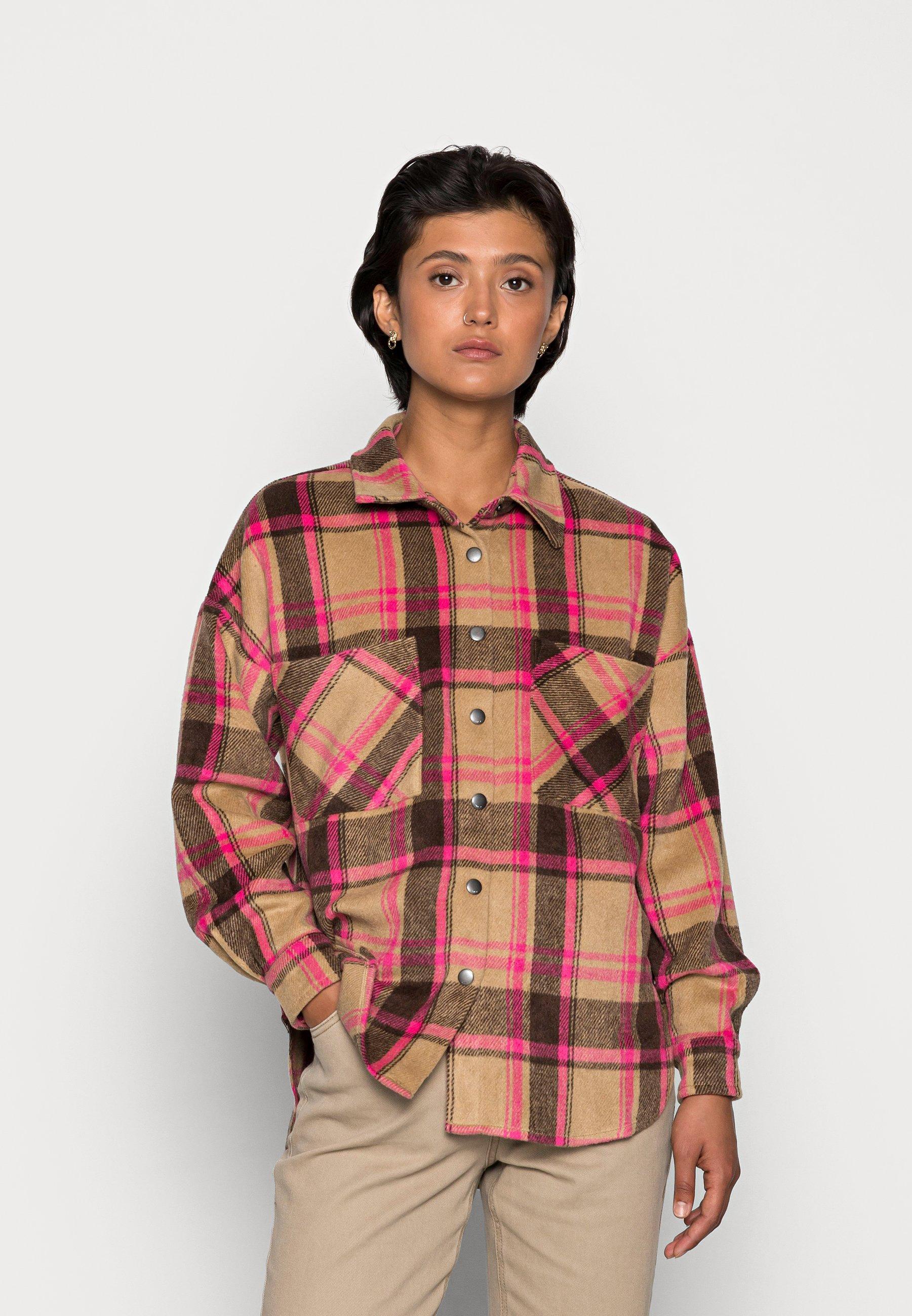 Women ONLPIA PLAIDED - Button-down blouse