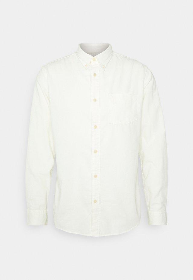 SLHSLIMOSCAR SLIM FIT - Camicia - egret