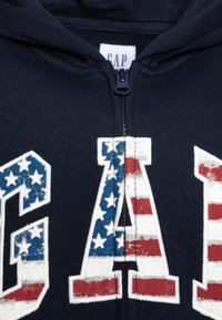 GAP - BOY NEW AMERICANA LOGO HOOD - Mikina na zip - blue galaxy - 2