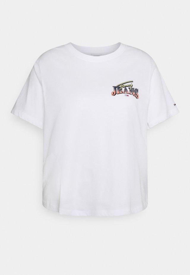 VINTAGE TEE - T-shirt imprimé - white