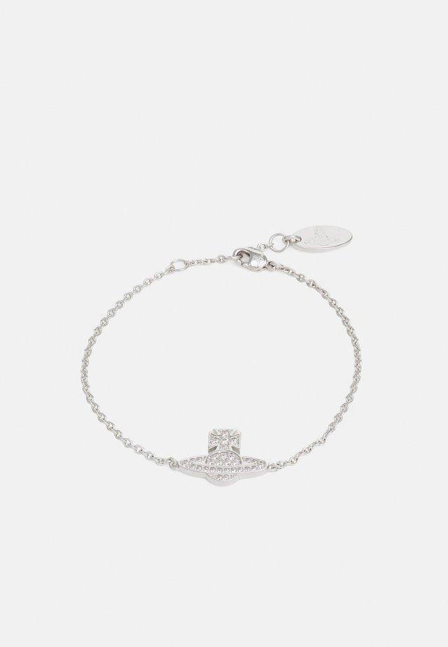 ROMINA PAVE ORB BRACELET - Náramek - silver-coloured