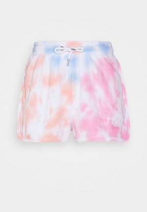 TERRY TIE DYE SHORTS - Shorts - pink