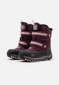 Kappa - BONTE TEX UNISEX - Winter boots - purple/rosé - 1