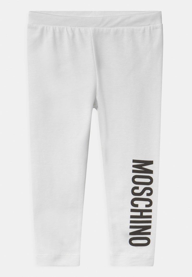MOSCHINO - Leggings - Trousers - optic white