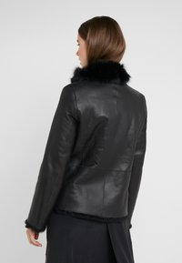 STUDIO ID - PHILIPPA JACKET - Leather jacket - black - 2