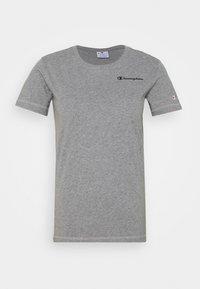 Champion - ESSENTIAL CREWNECK LEGACY - T-shirts - grey heathered - 4