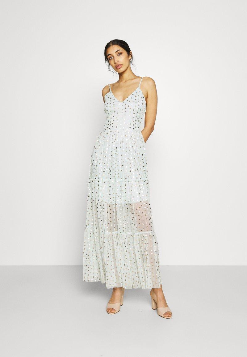 Lace & Beads - RUTH DRESS - Robe longue - mint