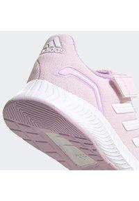 adidas Performance - RUNFALCON 2.0 UNISEX - Neutrální běžecké boty - clear pink/ftwr white/clear lilac - 11