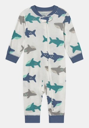 SHARK - Pyjamas - white/blue