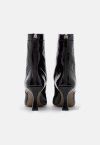 Topshop - VEGAN VIVA FLARED BOOT - Bottines à talons hauts - black - 3