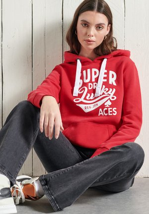 GRAPHIC STANDARD - Hoodie - rouge red