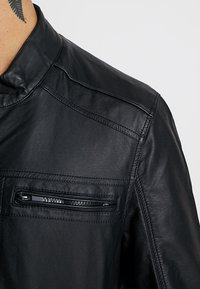 Brave Soul - JONES - Faux leather jacket - black - 3