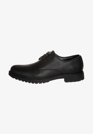 STORMBUCKS PT OXFORD - Sportieve veterschoenen - black smooth