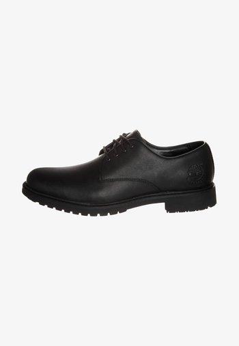 STORMBUCKS PT OXFORD - Casual lace-ups - black smooth