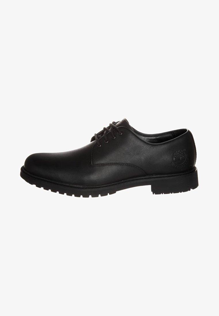 Timberland - STORMBUCKS PT OXFORD - Casual lace-ups - black smooth