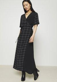JUST FEMALE - HALLE WRAP DRESS - Maxi dress - dark blue - 4