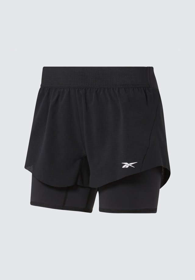 EPIC TWO-IN-ONE SHORTS - Korte sportsbukser - black