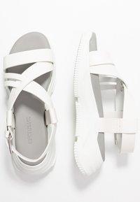 Sportmax - GERLA - Platform sandals - bianco - 3
