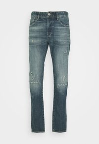 G-Star - 3301 SLIM C - Jeans slim fit - blue denim - 3