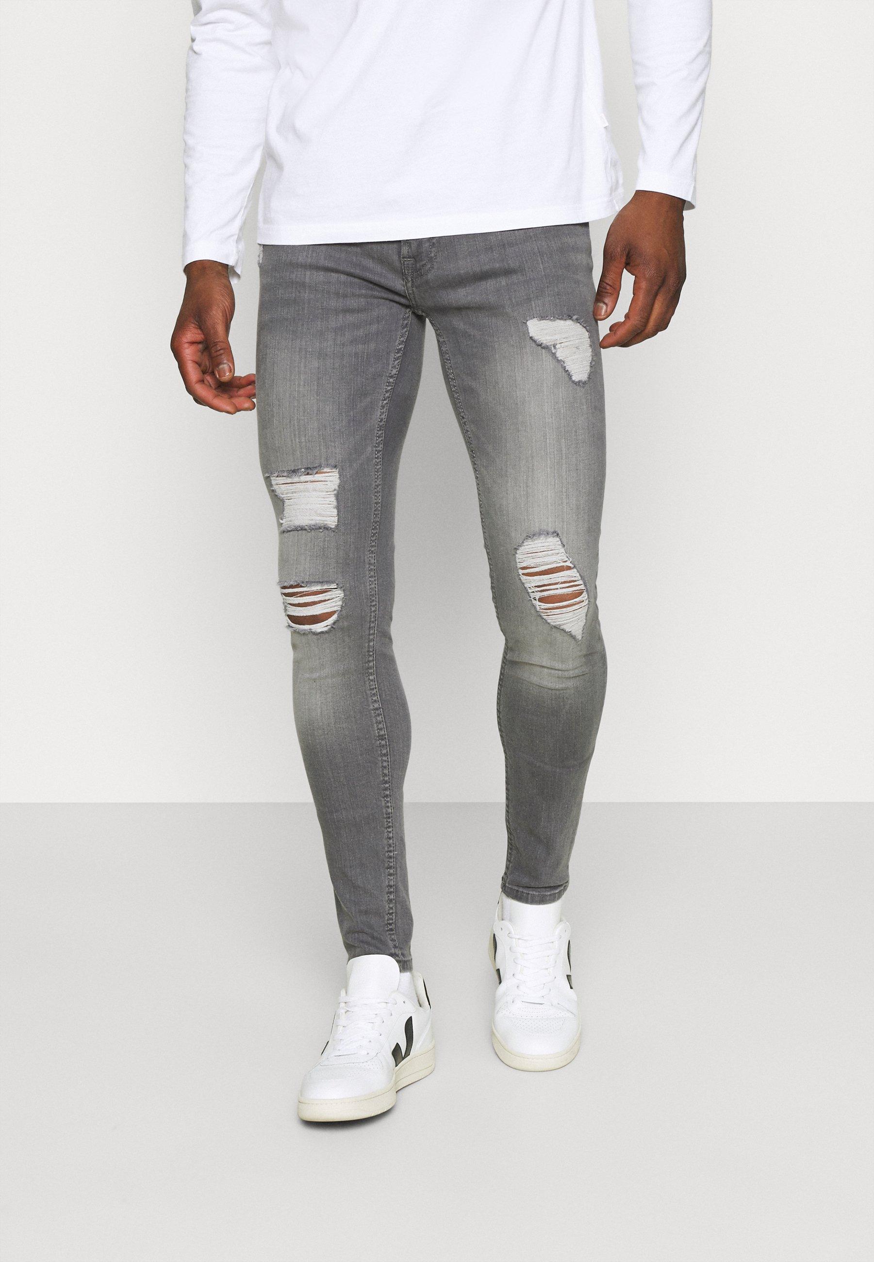 Herren ONSWARP LIFE SKINNY GREYST  - Jeans Tapered Fit