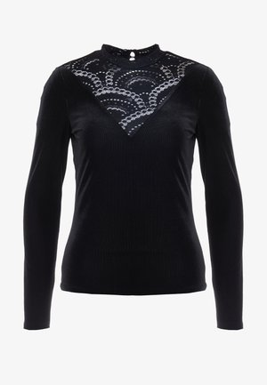 VIBIANA - Long sleeved top - black
