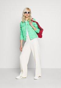 comma casual identity - Denim jacket - light green - 1