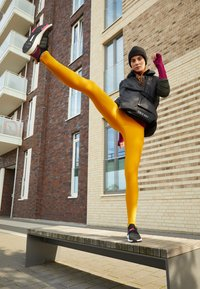 adidas Performance - ASK C.RDY - Tights - dark yellow - 5